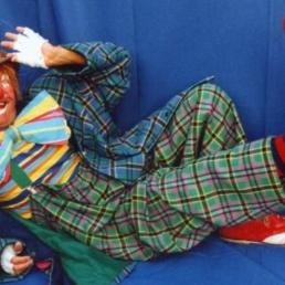 Clown Knokke  (BE) Verjaardagsshow Clown Popi