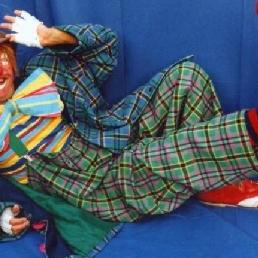 Kids show Knokke  (BE) School class performance Clown Popi