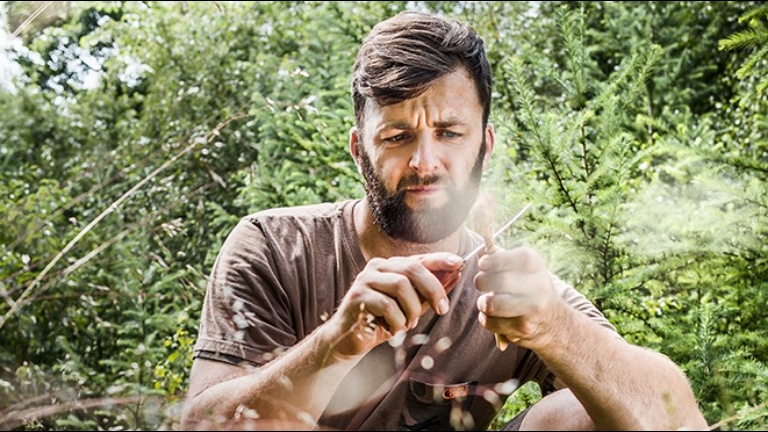 Bushcraft with Mike de Roover