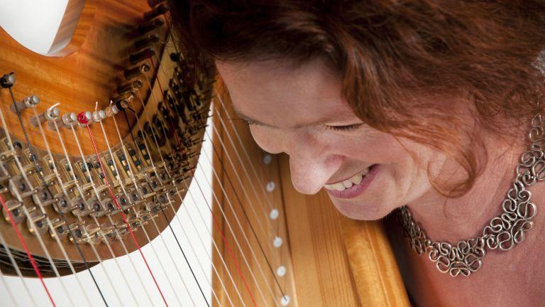 Heleen Bartels, harpiste en zangeres