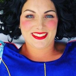 Karakter/Verkleed Aalsmeer  (NL) Prinses sneeuwwitje voor uw feest
