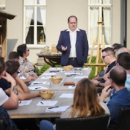 Proeverij Oostende  (BE) Bier Tasting met Zytholoog Kurt