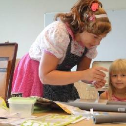 Kids show Niel  (BE) Knutselgefrutsel: mini-sjoelbak maken