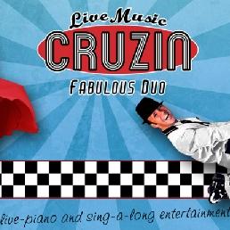 Band Roosendaal  (NL) Duo Cruzin - live piano & zang