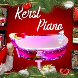 Pianist Roosendaal  (NL) Kerstpiano piano show