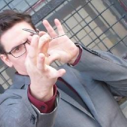 Goochelaar Deurne  (Antwerpen)(BE) Goochelaar voor beurs of bedrijfsfeest