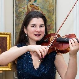 Violinist Leek  (NL) Violinist Anna Badalian