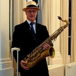 Saxofonist Koog aan de Zaan  (NL) Receptie Saxofonist