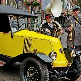 Band Koog aan de Zaan  (NL) Jazzband roaring twenties party