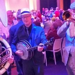 Band Uithoorn  (NL) Jazzband roaring twenties feest