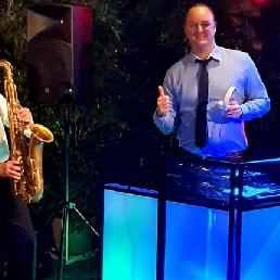 Saxofonist Koog aan de Zaan  (NL) Dj John & Saxofonist Robert