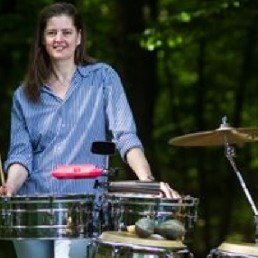 Percussionist Doorwerth  (NL) Percussioniste Christine Schukking