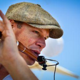 Flutist Paul Smithuis