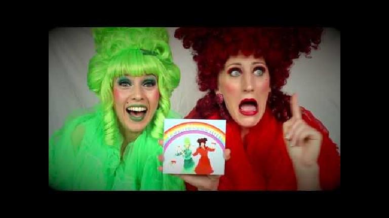 Kids show Amersfoort  (NL) The Nuffe Aunts Show! (SONG PROGRAM)