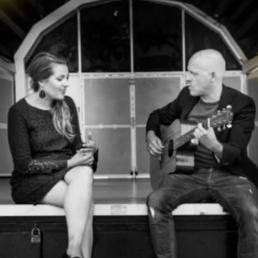 Zangeres Koog aan de Zaan  (NL) RoMe Live! - Akoestisch Kerst Duo