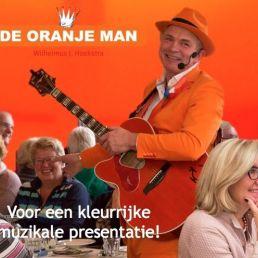Wilhelmus The Orange Man - Musical Presenter