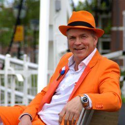 Presenter Utrecht  (NL) Wilhelmus The Orange Man - Musical Presenter