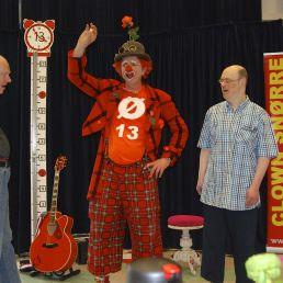 Clown Snørre Kindershow Muzikale Clown