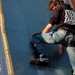 Sport/Spel Heemstede  (NL) Spider Climbing High Wall