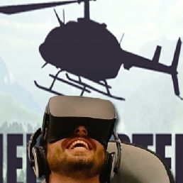 Sport/Spel Heemstede  (NL) Helikoptervlucht in VR