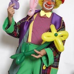 Clown Pepe's Magic Show Individuals