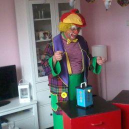 Clown Pepe's Goochelshow particulieren