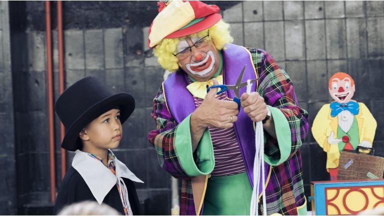 Clown Pepe's grote goochelshow