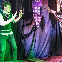 Cabaret Gent  (BE) Zweinstein, een geïmproviseerde geschiedenis