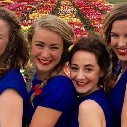 Singing group Haarlem  (NL) De Meisjes met de Wijsjes