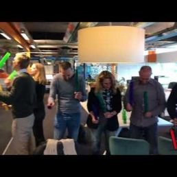 Teambuiling met Boomwhackers