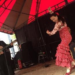 Gitarist De Meern  (NL) Spaanse Gitarist met Flamenco Danseres