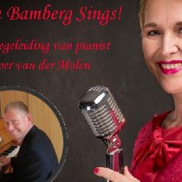 Zangeres Obdam  (NL) Marcia Bamberg Sings!