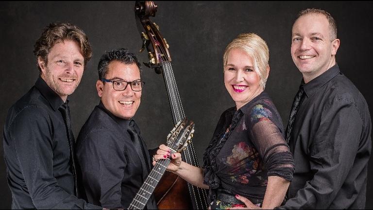 Band Obdam  (NL) Marcia Bamberg Swing Quartet - Online