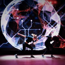 VJ Amsterdam  (NL) Tailor made video dance act (VJ act)