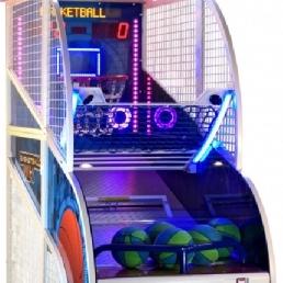 Sport/Spel Velden  (NL) Basketball Deluxe White