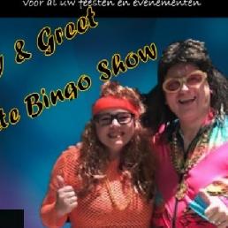 Karakter/Verkleed Nieuwegein  (NL) Bingo Harry en Greet Foute Bingo act