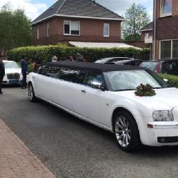 Party vervoer Weesp  (NL) Chrysler Limousine
