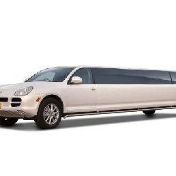Party vervoer Veenendaal  (NL) Porsche Cayenne limousine