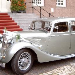 Party vervoer Nijkerk  (NL) Jaguar SS Trouwauto