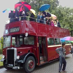 Party vervoer Nijkerk  (NL) Leyland Open Topper Partybus