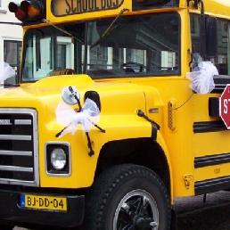 Party vervoer Nijkerk  (NL) Amerikaanse schoolbus