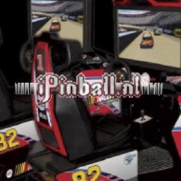 Sport/Spel Tilburg  (NL) Race Game Zilver NASCAR TWIN