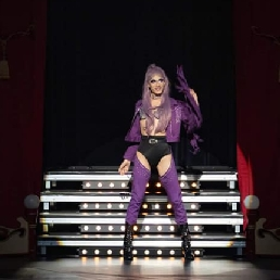 Animatie Amsterdam  (NL) Drag Queen Playback Zangeres Miss Reggy B