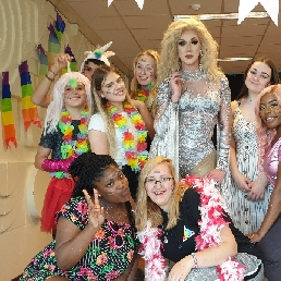 Animatie Amsterdam  (NL) Drag Queen Host Hoax LeBeau