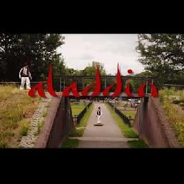 Character/Mascott Zwolle  (NL) Aladdin on Flying Carpet