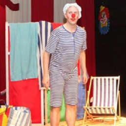 Kids show Veenendaal  (NL) Clown Doedel is going to Spain