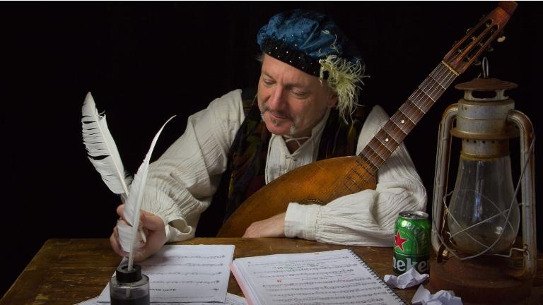 Singer (male) Zaandam  (NL) Solo Serenade Service