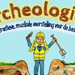 Kids show Breskens  (NL) Archeologica