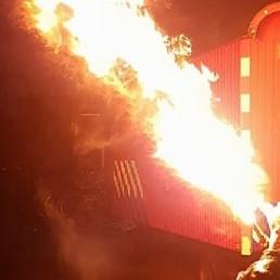 Stuntshow Maarheeze  (NL) Vuurshow