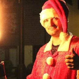 Stuntshow Maarheeze  (NL) Vlammende Kerstman
